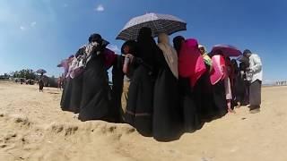 【360度動画】止まらないロヒンギャ難民の脱出 ロヒンギャ 検索動画 16