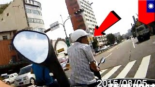 Man attempts to run from police, crashes into wall, injures knee, no more running - TomoNews