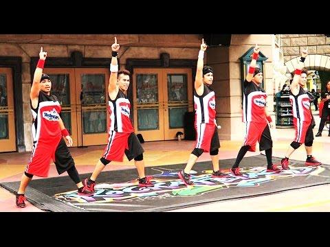 NEW! BEST STREET DANCERS - Rockafellas Streetboys @ Universal Studios.