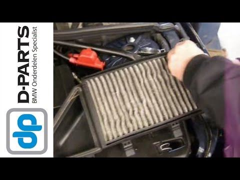 Vervangen interieurfilter microfilter bmw 5 serie e60 for Interieur filter