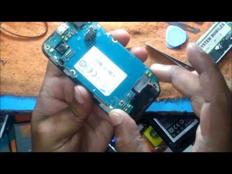 Samsung S5250 Wave525 LCD Removing