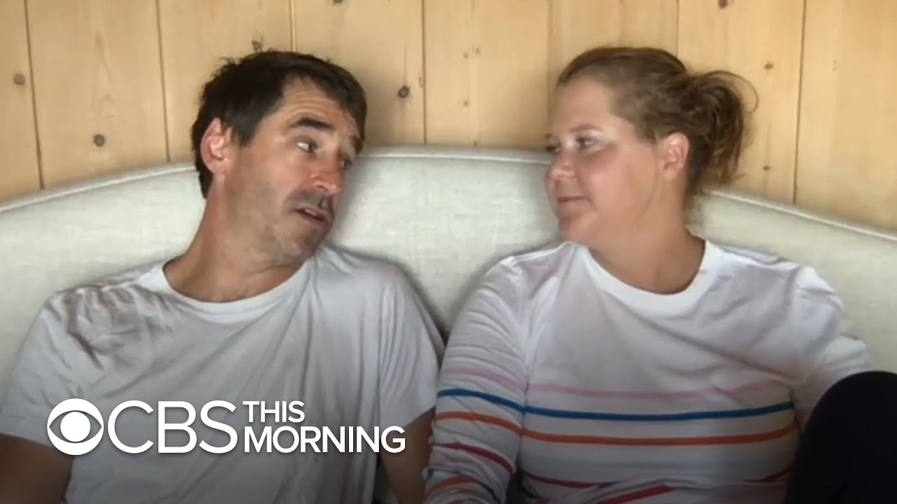Download Amy Schumer and husband Chris Fischer on cooking show and parenthood
