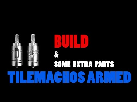 Tilemahos Armed by Golden Greek EXTRA SPARES AND BUILD (GREEK  - ENGLISH)