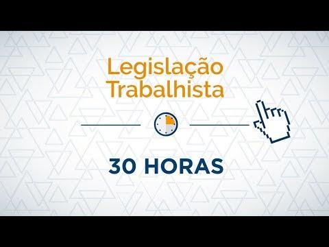 Видео Cursos de legislação trabalhista