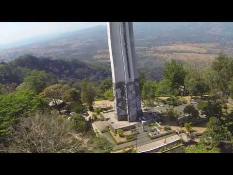 DJI Phantom Flying GoPro Phillipines Mt. Samat War Memorial