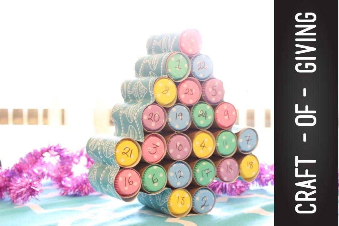 Easy diy christmas advent calendar craft of giving youtube solutioingenieria Image collections