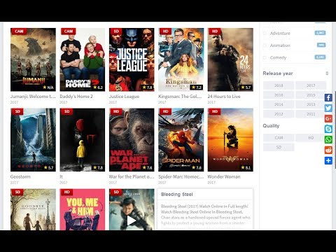 Best websites to watch Movies and TV Series online for Free
