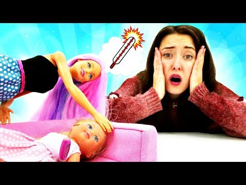 Игры Барби - Доктор Плюшева для Штеффи. Видео для девочек