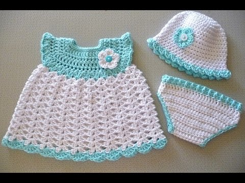 Crochet Baby Dresses Patterns Youtube