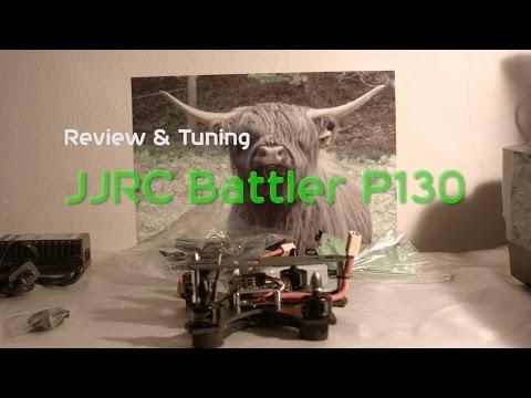 JJPRO Battler P130 Unboxing - Review - Setup - Testflug - Tuning -auf deutsch -  für Gearbest.com