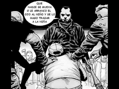 Muerte de Glenn - The Walking Dead (comic español)