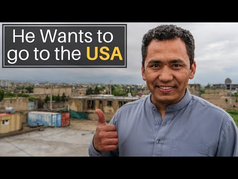 He Wants To Go To The USA