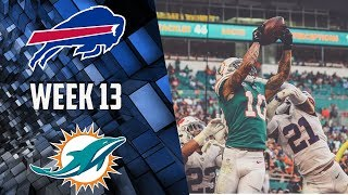 Buffalo Bills vs Miami Dolphins Week 13 Post Game Reaction