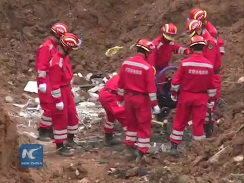 Shenzhen's landslide 'industrial accident'   officials make apology