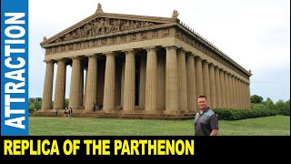 The Parthenon full-scale replica of the original Athens art museum by Jarek Nashville Tennessee USA