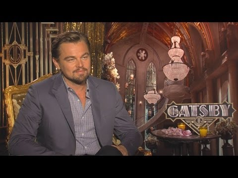 Leonardo DiCaprio - The Great Gatsby Interview HD