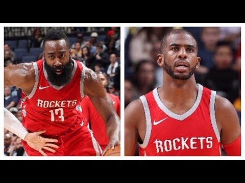 James Harden (29/5/7) and Chris Paul (17/6) Lead Rockets Past Grizzlies | November 18, 2017