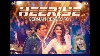German reacts to Heeriye Video Song - Race 3 - Salman Khan - Jacqueline Fernandez