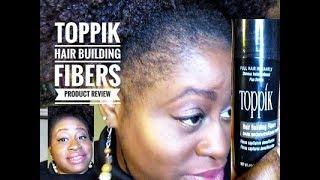 Natural Hair | Toppik Hair Building Fibers | Product Review