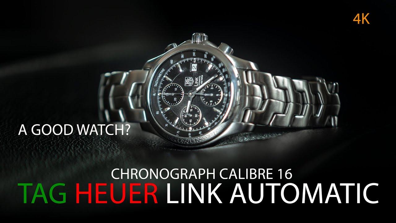 รีวิวนาฬิกา: Tag Heuer Link Automatic Chronograph Cal.16 ดีจริงไหม? คนเล่นรังเกียจ? แพงเกินจริง?