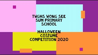 WSSP HALLOWEEN Costume Competition 2020