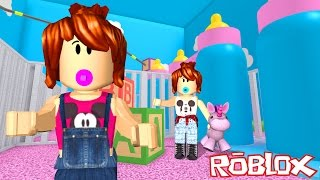 Roblox - ESCAPE DA CRECHE (Escape the Daycare Obby)