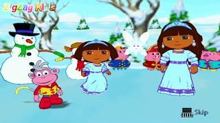 Dora a Exploradora   Dora Saves the Snow Princess   Episode 11   THE END   ZigZag Kids HD