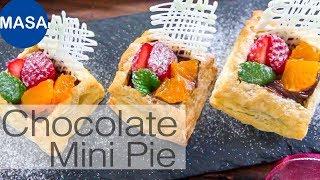 巧克力草莓迷你派/Chocolate Custard Pie |MASAの料理ABC