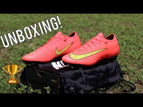 4905bbb718 Nike Mercurial Vapor 12 2014 WC Heritage Pack Nike ID - Unboxing ...