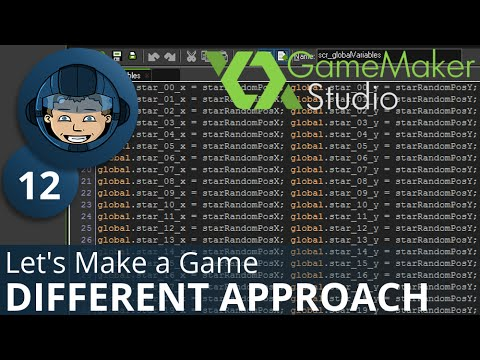 DIFFERENT APPROACH - Let's Make A Game: Ep. #12 - Project Automation - Game Maker Tutorials