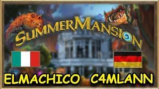Hearthstone Summer Mansion - Elmachico vs C4mlann