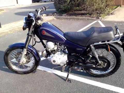 2002 yamaha sr125 sr 125 gn motorbike vgc new mot tidy. Black Bedroom Furniture Sets. Home Design Ideas