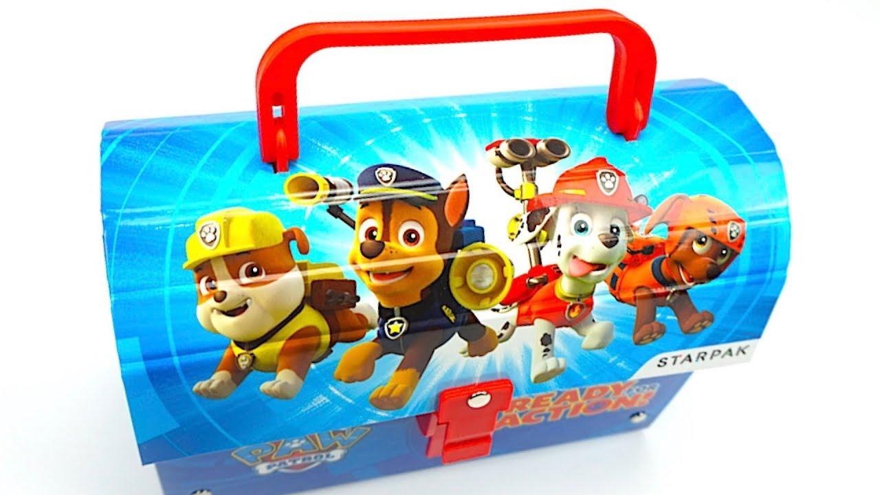 <b>Щенячий патруль</b> игрушки, сюрпризы, наклейки - YouTube
