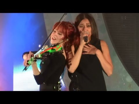 "Lindsey Stirling ft. Dia Frampton - ""We Are Giants"" (Live in San Diego 5-13-14)"