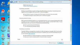 Networking with Windows 7 and Windows XP