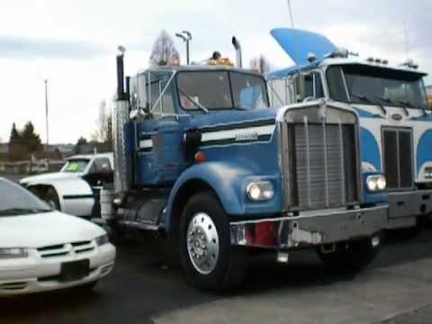 OLD Kenworth W900 8V92 Detroit