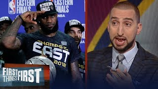 Nick Wright on LeBron leading Cleveland to a Game 7 victory over Celtics | NBA | FIRST THINGS FIRST