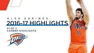 Best of Alex Abrines: 2016-17 NBA Season | P1 of 3