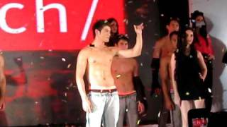 Jake Cuenca Bench Fashion Walk Finale 2010
