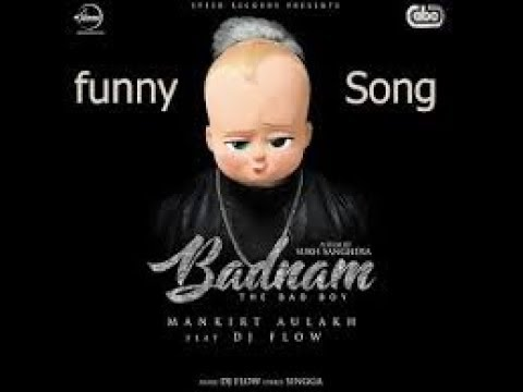 BADNAM (The Bad Boy) | Boss Baby | Animated Video | Fun Facts | Latest Punjabi Songs 2017