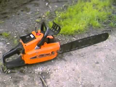 Oleomac 261 Chainsaw Ebay Youtube
