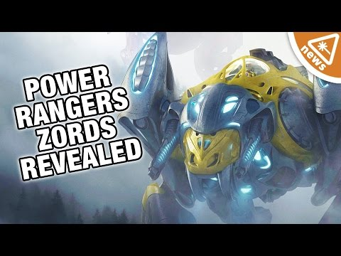 Are the New Power Rangers Zords Too Big? (Nerdist News w/ Jessica Chobot)