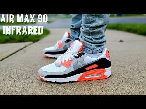 Air Max 90 Infrared 2020 Unboxing & On Feet Air Max 3 Radiant Red