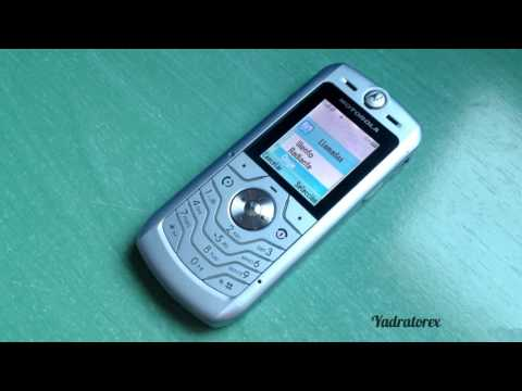 Motorola SLVR L6 retro review (old ringtones, wallpapers...)