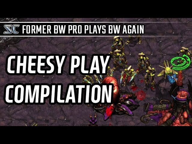 Cheesy play compliation l StarCraft: Brood War Remastered l Crank