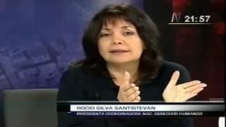 Rocío Silva Santisteban y los derechos humanos (2011-05-16)