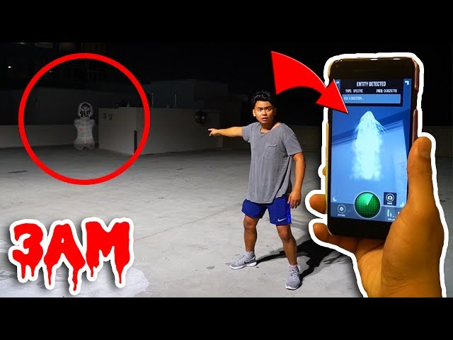 DO NOT USE THIS GHOST TRACKER APP AT 3AM! (Ghost)