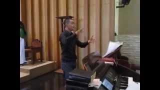 "Lg Komuni (1) ""O Bone Jesu"" ACAPELLA by Stimus Voices dgn dirigen Albertus Wihananta."