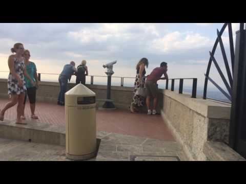 Walk to San Marino Guaita Castle part6