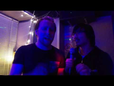 """Careless Balance"" CoH2 karaoke in Sweden With Stormless, Tenshi, Papito and A_E (all very drunk)"
